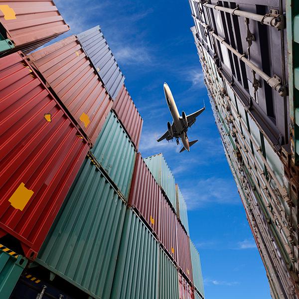 Préparation des exportations alimentaires au décollage