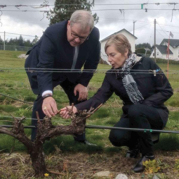 Nouveau Centre pour la protection des végétaux en voie de devenir un carrefour de l'innovation