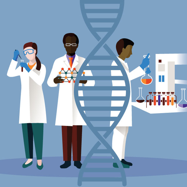 Les scientifiques de l'ACIA à la recherche du Code-barres du vivant