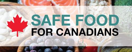 Safe food for Canadians