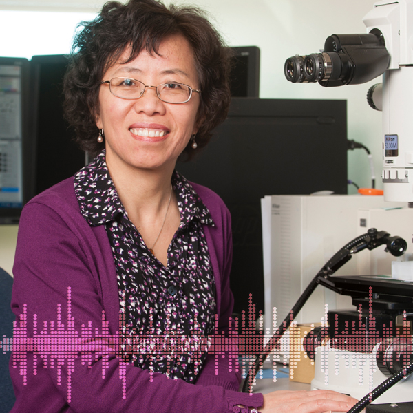 Femmes en Sciences - balado avec Dre Ruojing Wang