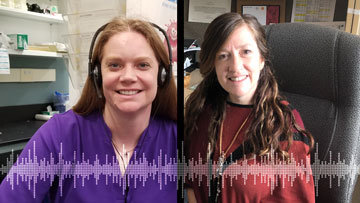 Women in Science: Podcast with Katie Eloranta and Dr. Catherine Carrillo