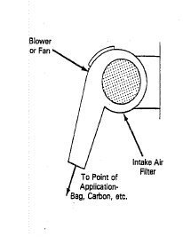 Image - Individual fan type air supply. Description follows.