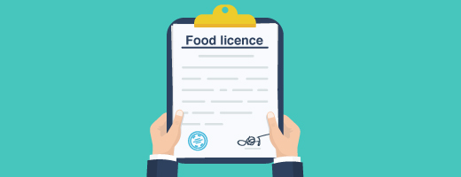 Who needs a food licence, how to apply, log in to your account and finding a business with a licence.