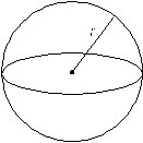 Mathematical Calculations - Area of sphere equal to 4 multiply pi multiply radius squared