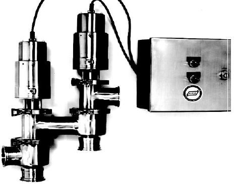 Figure 9: Dual Stem Flow Diversion Device. Description follows.