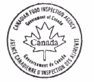 Image of the Canadian Food Inspection Agency Stamp
