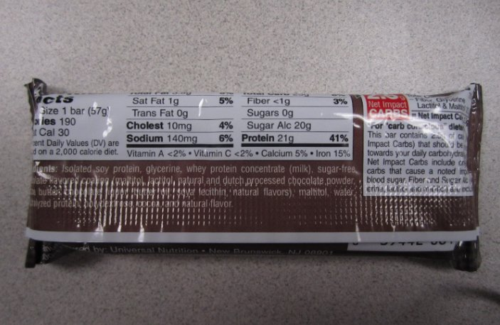 Doctor's CarbRite Diet Chocolate Brownie bars
