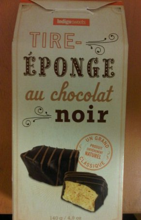 Indigosweets brand Dark Chocolate Sponge Toffee - French