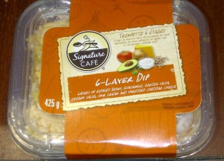 Signature Cafe 6-Layer Dip - 425 gram