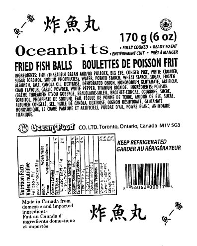 Ocean Food - Oceanbits - Fried Fish Balls