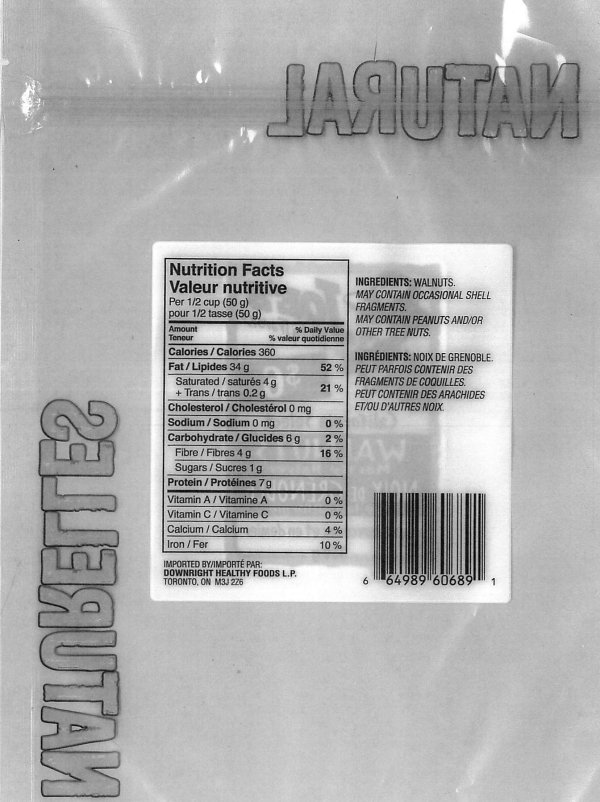 Joe's Tasty Travels California Select Walnuts Mostly Halves - nutritional information