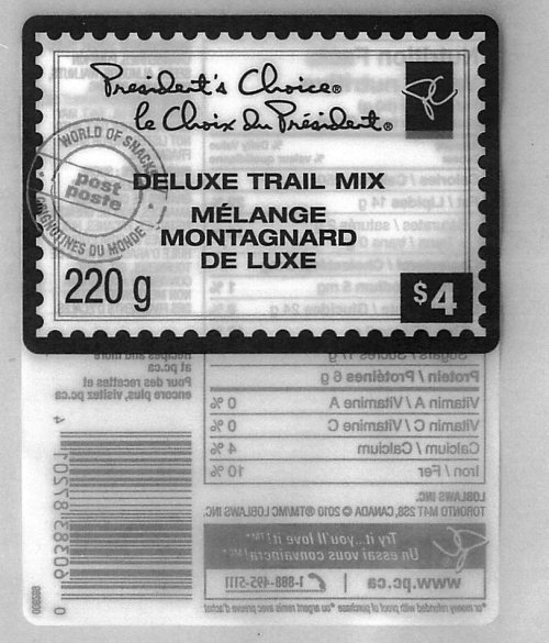 President's Choice Deluxe Trail Mix