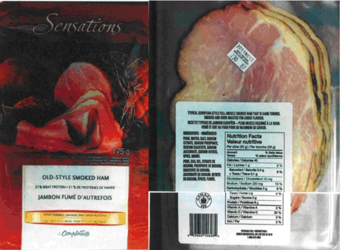 Sensations Old Style Smoked Ham