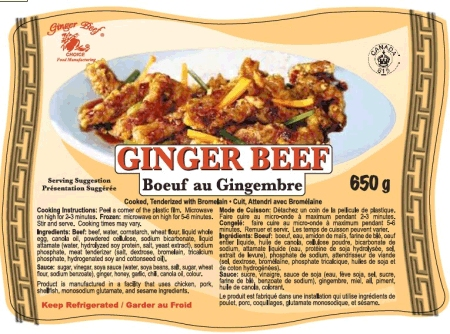 Ginger Beef - 650 grams