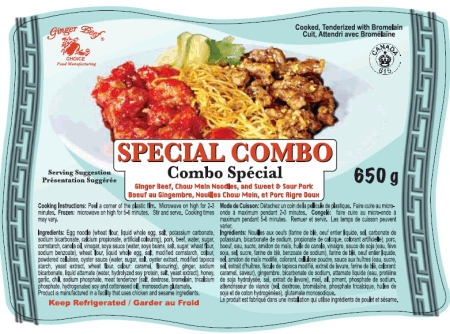 Special Combo - 650 grams