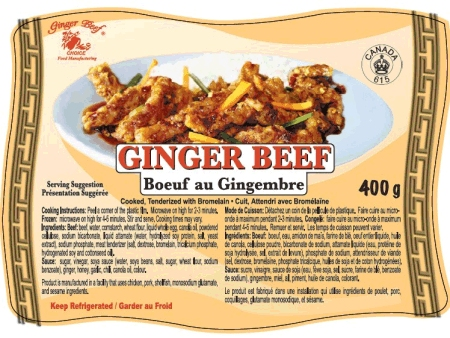 Ginger Beef - 400 grams