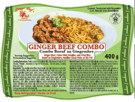 Ginger Beef Combo - 400grams