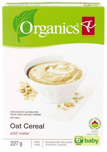 Oat Cereal (add water) 6+baby