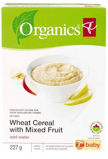 Wheat Cereal with Mixed Fruit (add water) 7+ baby