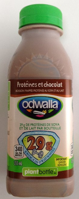 Odwalla Chocolate Protein beverage - french