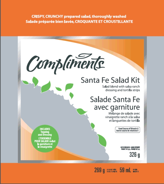 Compliments Santa Fe Salad Kit