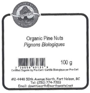 Down to Earth Health Shop - Pignons Biologiques