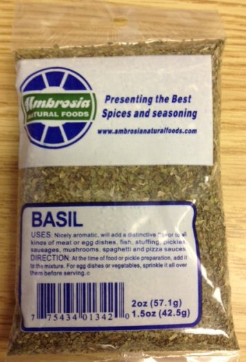 Ambrosia Natural Foods - Basil