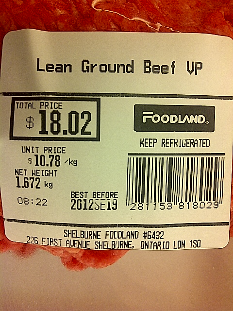 Foodland-Foodland-Lean Ground Beef VP