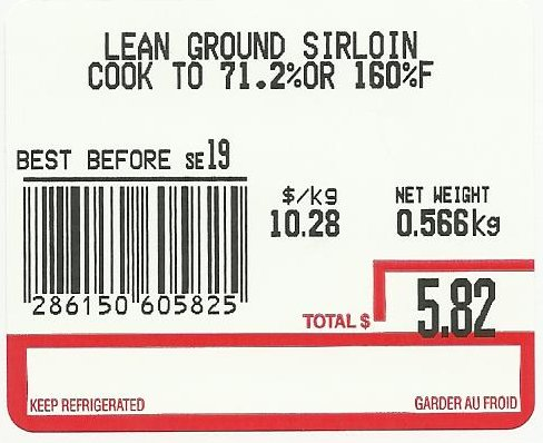 None-Lean Ground Sirloin