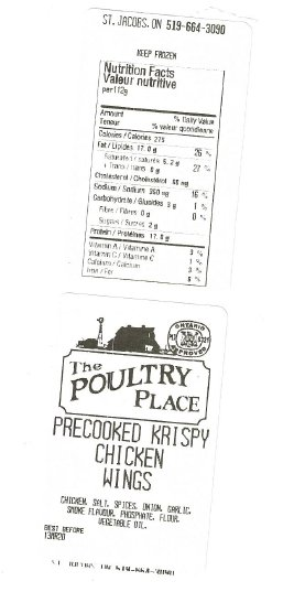 The Poultry Place - Krispy Chicken Wings