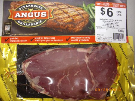 Steakhouse Angus Select - Boneless Beef Angus Top Sirloin Steak
