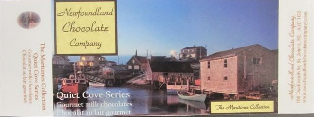 Quiet Cove Series (The Maritimes Collection) Gourmet milk chocolates