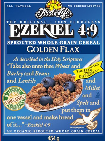 Ezekiel 4:9 Sprouted Whole Grain Cereal - Golden Flax