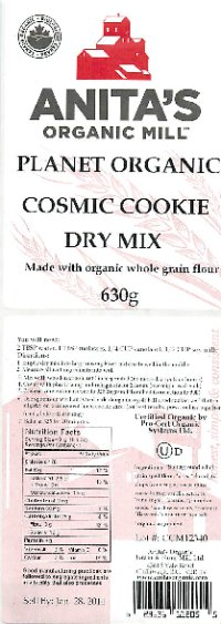 Planet Organic Cosmic  Cookie Dry Mix