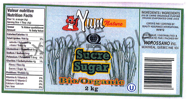 Yum Nature Organic Sugar