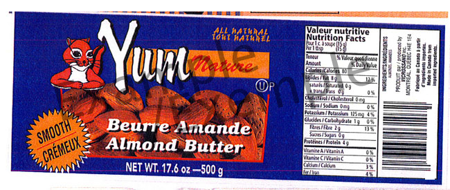 Yum Nature Smooth Almond Butter
