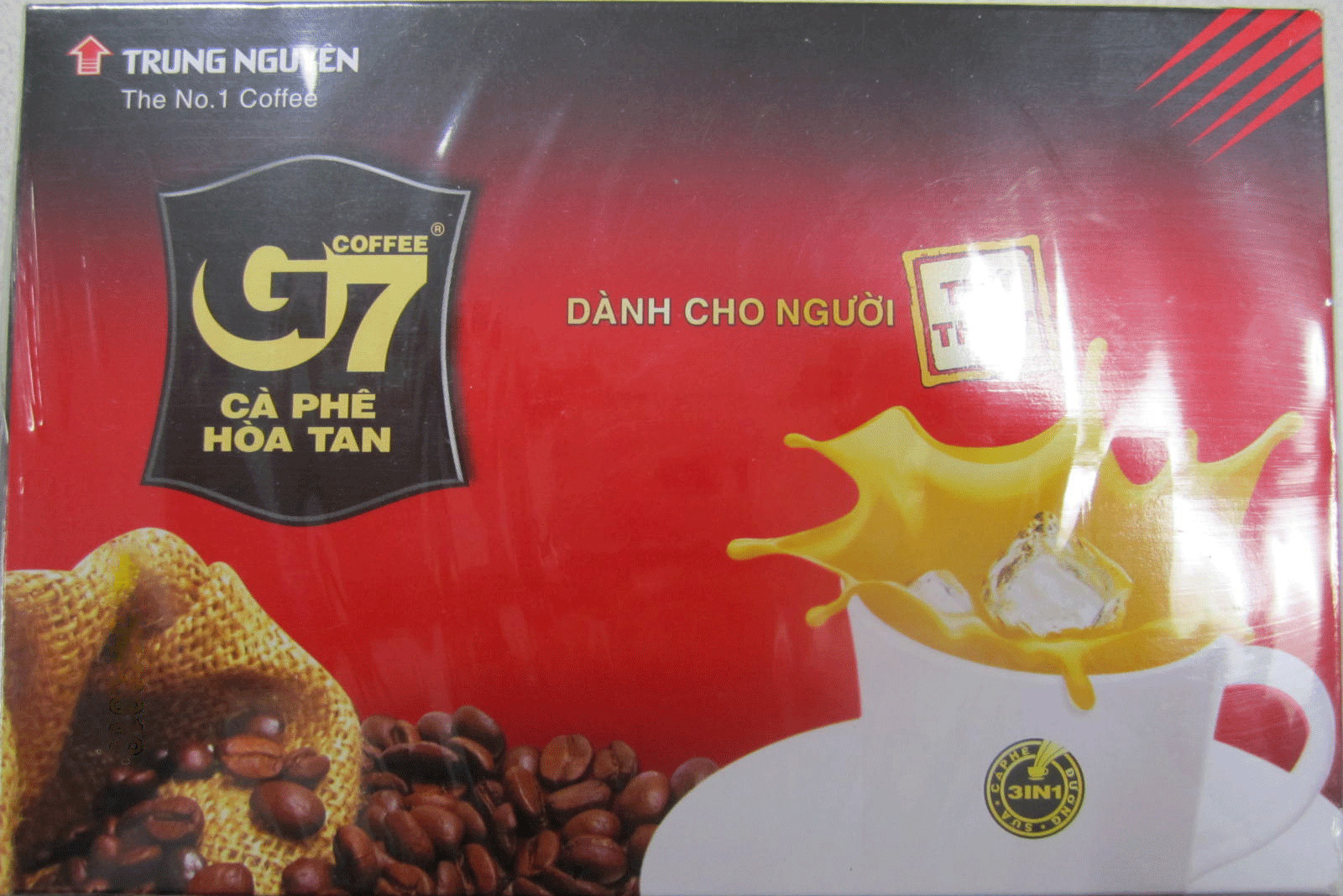 Coffee 3 in 1 - 18 sachets - front
