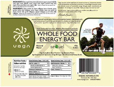 Whole Food Energy Bar Natural Flavor