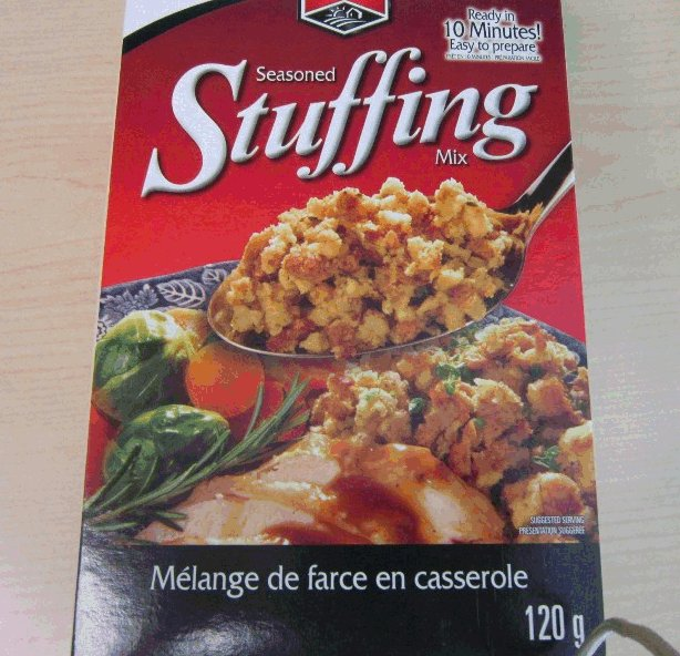 Western Family brand Seasoned Stuffing Mix