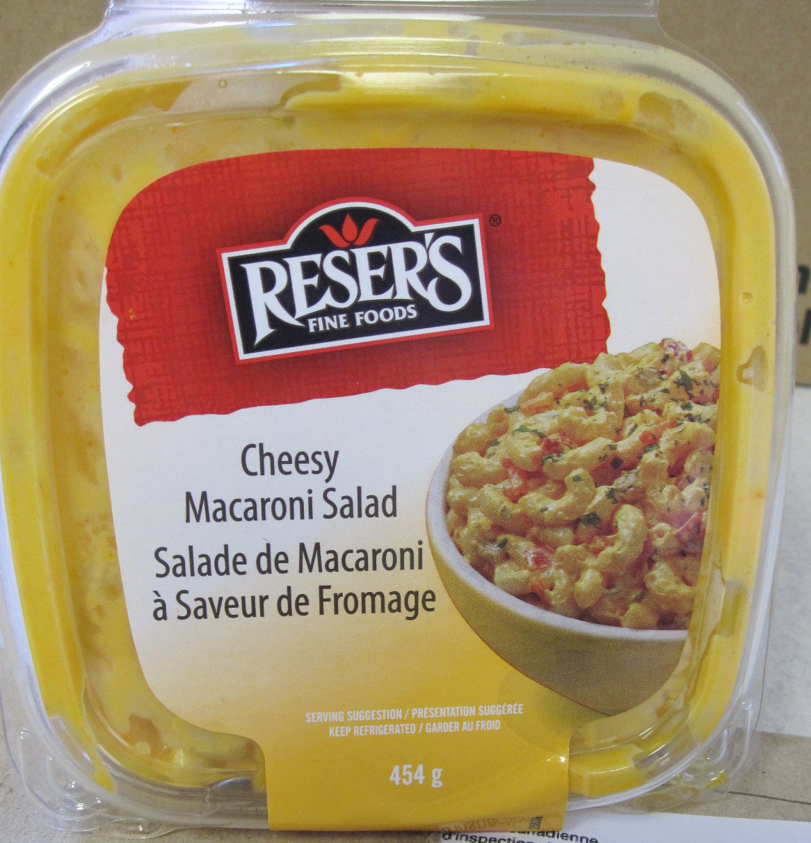 Cheesy Macaroni  Salad-454 grams