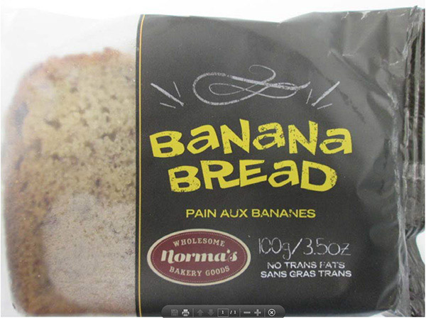 Norma's Banana Bread - 100 grams