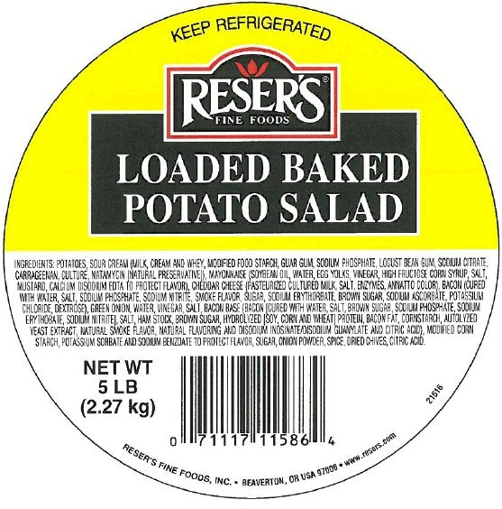 Reser's Fine Foods - « Loaded Baked Potato Salad »  (en vrac)