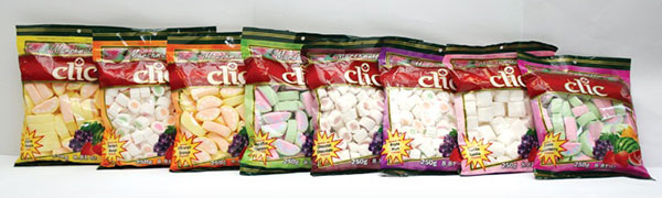 Clic Brand Flavoured Marshmallows
