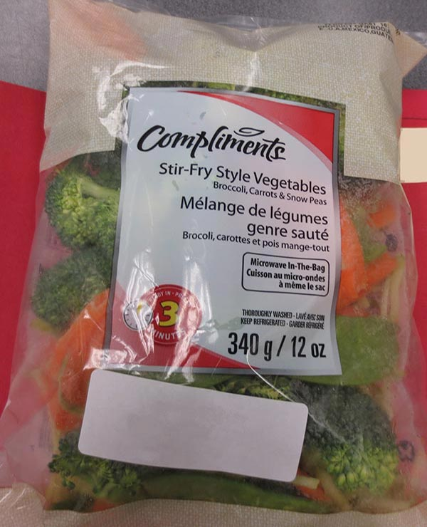 Compliments Stir-Fry Style Vegetables - 340 grams