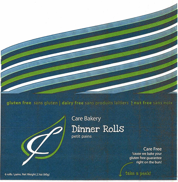 Care Bakery Dinner Rolls - 6 rolls