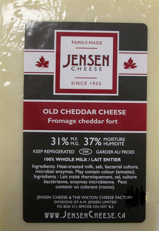 Jensen Cheese - Fromage cheddar fort