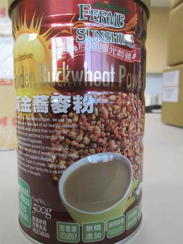 Golden Buckwheat Powder: 500 grams