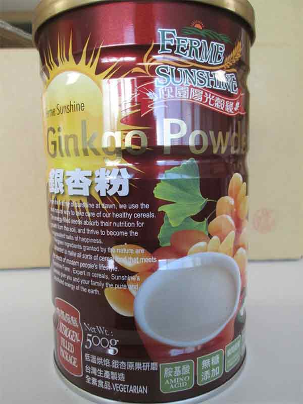 Gingko Powder: 500 grams