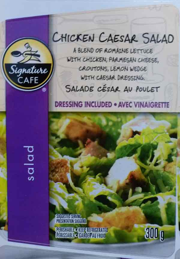 Signature Cafe: Chicken Caesar Salad - 300 grams